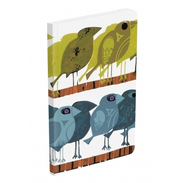 Family of Birds Notebook