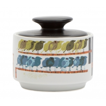 Family of Birds Sugar Bowl - Gift Box