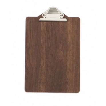 Clipboard A4 - Smoked Oak Veneer