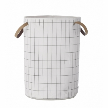 Grid Laundry Basket