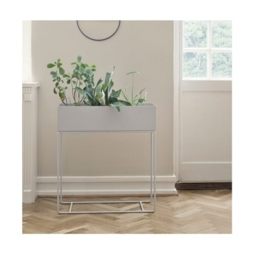 Plant Box Stand - Light Grey