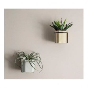 Plant Pot Holder Wall - Black
