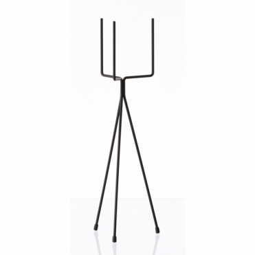 Plant Stand Black - Short