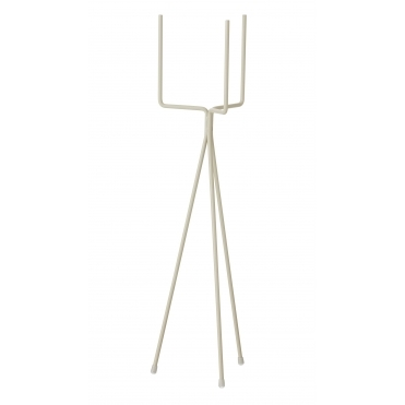 Plant Stand Light Grey - Short