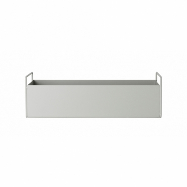 Plant / Storage Box Small - Light Grey