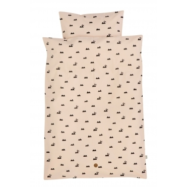 Rabbit Rose Duvet Cover & Pillowcase Set - Junior