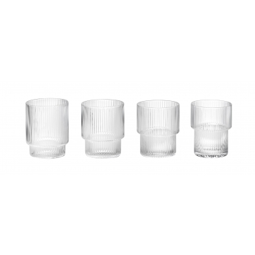 Ripple Glasses - Set of 4