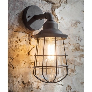Finsbury Wall Light - Charcoal