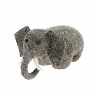 Felt Elephant Door Stop / Bookend