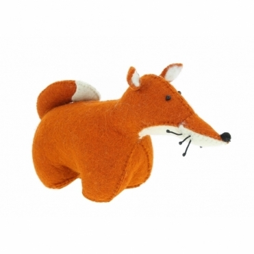 Felt Fox Door Stop / Bookend