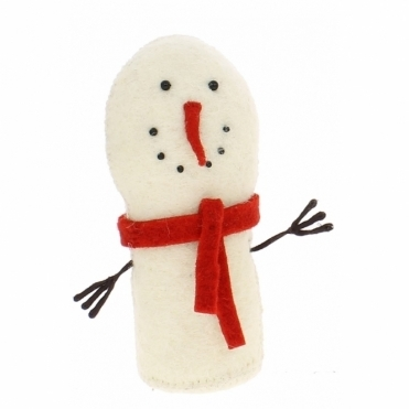 Felt Snowman Standing - Number 2 from the Snowman Family