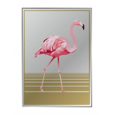 Flamingo Mirror Large