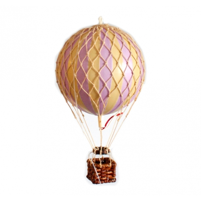 Greatest Authentic Models Floating The Skies Hot Air Balloon Lavender MJ55