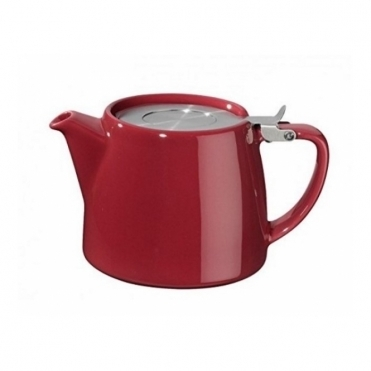 Stump Teapot 400ml - Burgundy