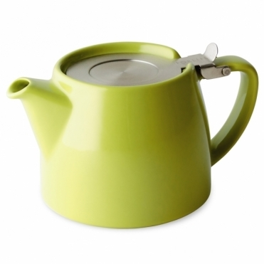 Stump Teapot 400ml - Lime Green