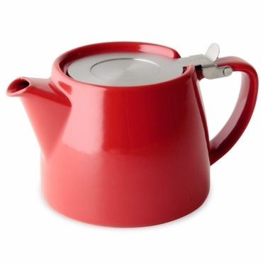 Stump Teapot 400ml - Red