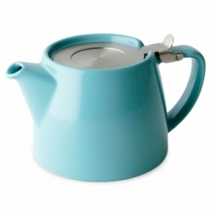 Forlife Stump Teapot 400ml - Turquoise