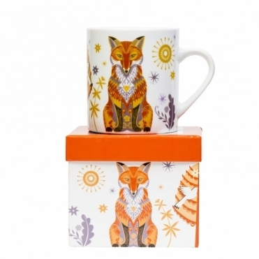 Fox Mug in Gift Box