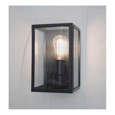 Belgrave Lantern Wall Light - Carbon