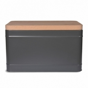 Borough Bread Bin Charcoal