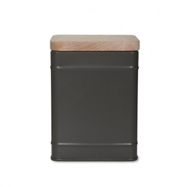 Borough Canister Tin - Charcoal