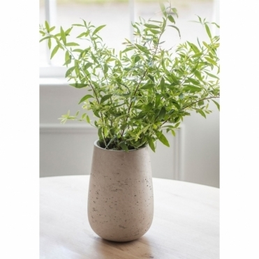 Cement Stratton Stone Vase - Large