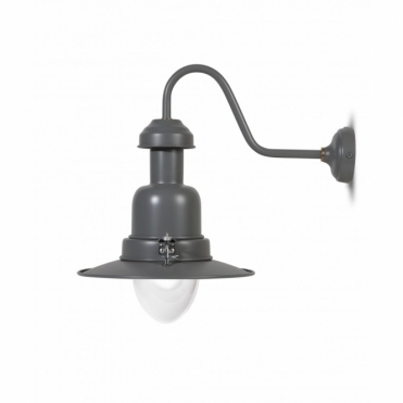 Fishing Wall Lamp Charcoal Light