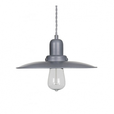 Hobury Pendant Light - Charcoal