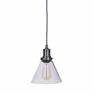 Hoxton Cone Glass Pendant Light