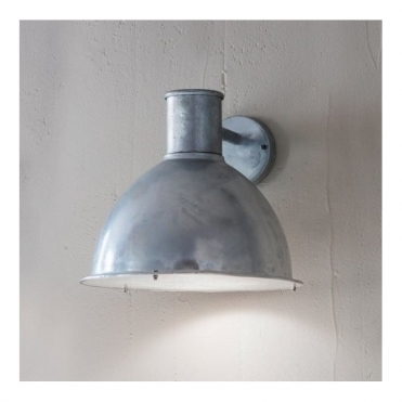 St Ives Bay Wall Light - Galvanised