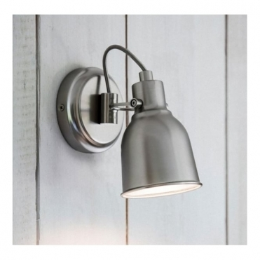 Walton Wall Light - Satin Nickel