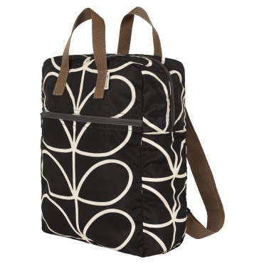 Giant Linear Stem Packaway Backpack Tote - Liquorice