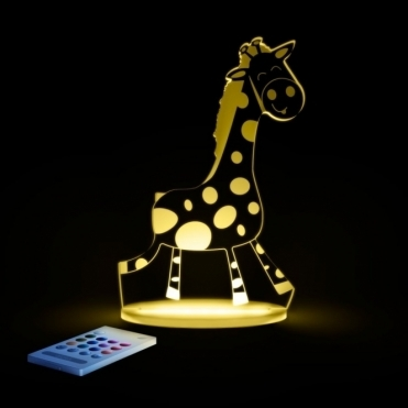 Giraffe SleepyLight Colour Changing LED Night Light with Remote