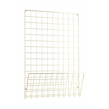 Gold Wire Mesh Mood / Memo Board