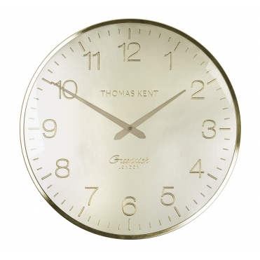 Greenwich Wall Clock - Morning Gold