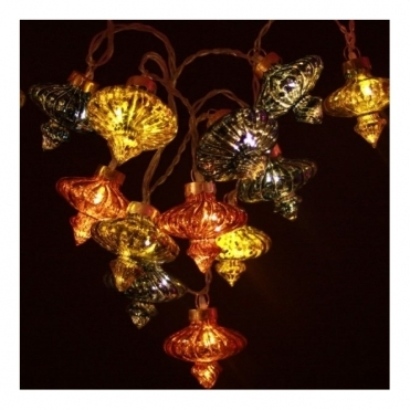 Antique Kasbah Moroccan String Light Chain LED Fairy Lights