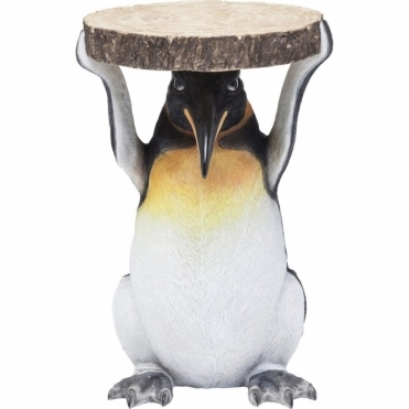 Hurn & Hurn Discoveries Mr. Penguin Side Table