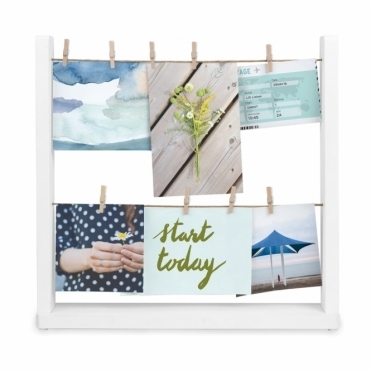 Hangit Desk Photo Display - White