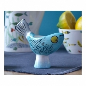 Fish Egg Cup - Blue