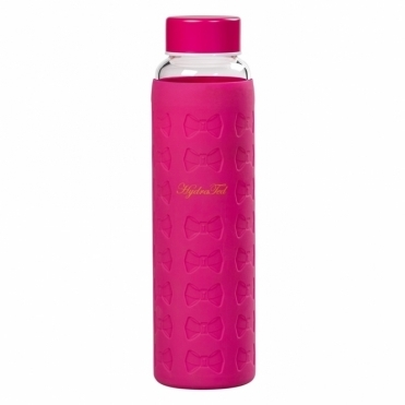 Hot Pink Signature Bow Water Bottle
