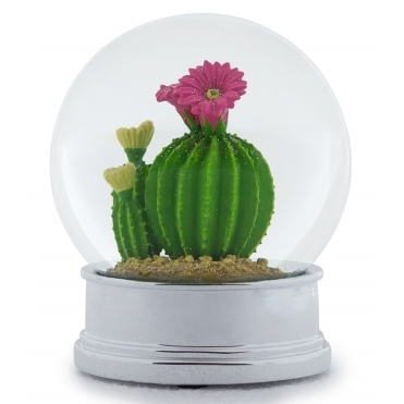 Cactus Snow Globe - Decorative