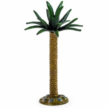 Cast Iron Palm Tree Large Candlestick / Candle Holder