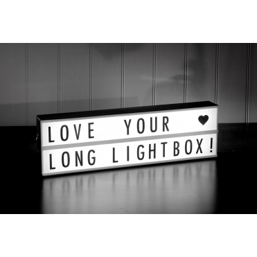 Cinema Light Box Landscape - 2 Line