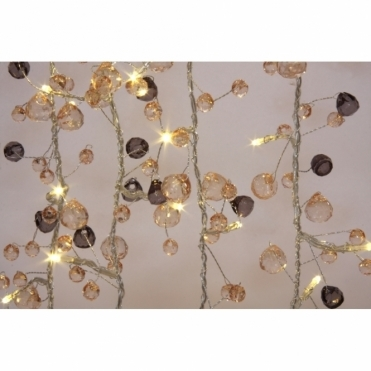 Coco Chic Crystals LED Fairy String Light Chain