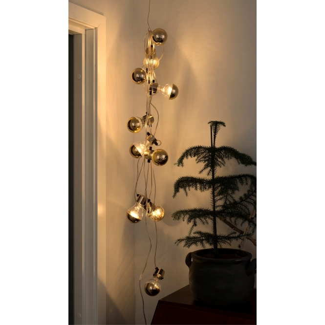 Hurn & Hurn Discoveries Copper LED Warm White Bulb String Lights - Indoor & Outdoor