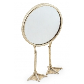 Hurn & Hurn Discoveries Duck Feet Mirror - Silver