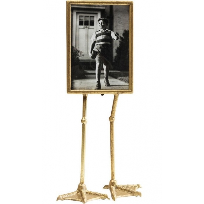 Duck Feet Portrait Photo Display Frame - Gold