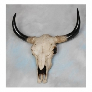 Extra Large Bison Skull Head Wall Decor