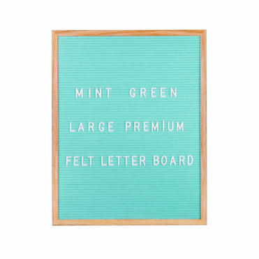 Felt Letter Board Large - Mint