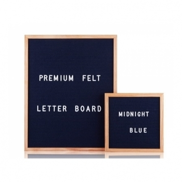 Felt Letter Board Small - Midnight Blue